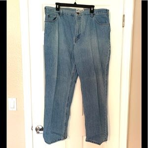 Faded Glory Relaxed Vintage Blue Jeans Straight